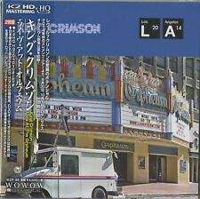 KING CRIMSON-LIVE AT ORPHEUM-JAPAN MINI LP HQCD+DVD-AUDIO J50