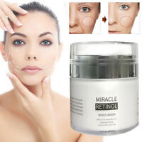 2.5% RETINOL VITAMIN A Anti Aging Wrinkle Acne Hyaluronic Acid Face Cream FT