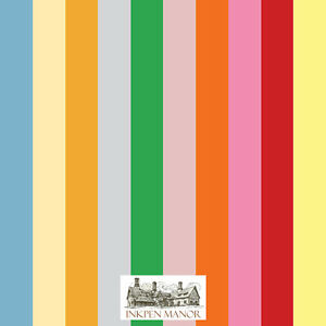 Inkpen Manor Luxury Tinted A4 Premium Craft Card 160gsm - 10 Colour Choice