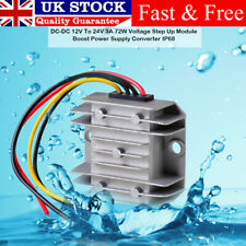 Industry Grade 12v to 24v DC Step Up Voltage Converter Converter Boost Regulator