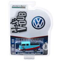 GREENLIGHT 29960 E 1976 VW VOLKSWAGEN T2 DOUBLE CAB PICK UP TRUCK 1/64 STP
