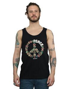 Woodstock Men's Floral Peace Vest