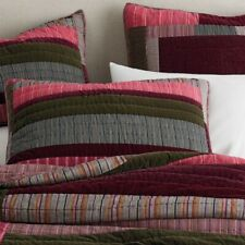 The Company Store Winter Berry Yarn-Dyed European Pillow Sham ONLY! Cotton Multi