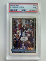1992 Topps Shaquille O'Neal RC PSA 9 MINT ROOKIE
