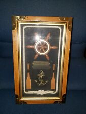 Novelty Marine Theme Key Cabinet Wood Rustic Box Hook Rack Wall Mounted #BBBS3