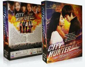 City Hunter Korean Drama DVD - PMP Entertainment - with Good English Subtitles