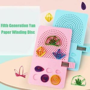 Paper Quilling Board with Grid Guide Paper Winder Roll Square DIY Craft Tool