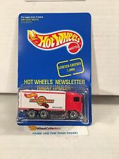 NEWSLETTER * Hiway Hauler * RED * Hot Wheels w/ REAL RIDERS * C18