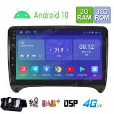"9"" 2GB + 32GB Android10 Autoradio GPS Navi Bluetooth5.0 4G LTE für Audi TT 2 DAB"