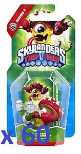 60 x Skylanders Trap Team Action Figure - Sure Shot Shroomboom