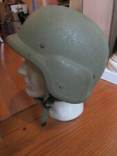 Vintage Us Army Military Pasgt Ballistic Combat Helmet w/Liner Medium