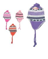 Wholesale Lot of 12 Ladies Knit Warm lined Winter Hats Stocking Stuffer Gift