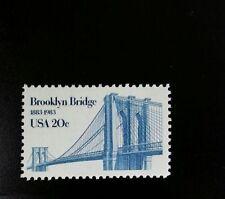 1983 20c Brooklyn Bridge, New York City Scott 2041 Mint F/VF NH