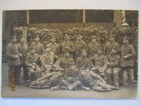 Deutsche Soldaten, Fotokarte 1915 aus Meissen (45679)