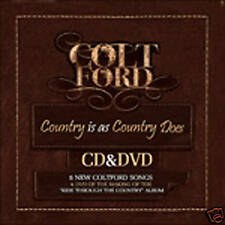 Colt Ford Country Is As Country Does CD / DVD New! FREE Super Fast  Shipping!!!