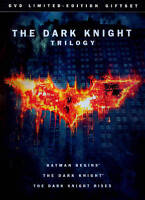 Movie The Dark Knight Trilogy DVD 2012 3 Disc Set Limited Edition Gift Set