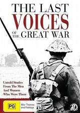 Last Voices Of The Great War / 2 DVD NEW