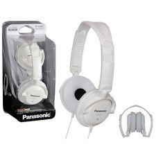 Panasonic RP-DJS200-W On-Ear Lightwieght DJ Street Style Headphones RP-DJS200