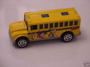 Fairly Odd Parents  School Bus  Ford Focus Ford Van Promotional Set Matchbox