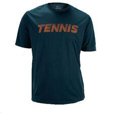 Nike Tennis Read Tee-Poly Shirt Stadium Squadron Blue 525507-467 Sz L