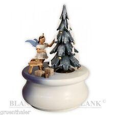 Spieldose / Spieluhr Kurzrock-Engel Weihnachtstraum farbig Fa. Blank Erzgebirge