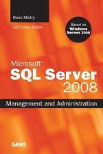 NEW! Microsoft SQL server 2008 management and administration