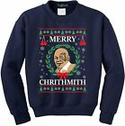 NuffSaid Merry Chrithmith Chirithmith Mike Tyson Ugly Christmas Sweater Unisex S