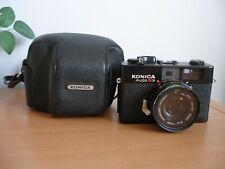 Konica Auto S3 35mm Film Camera & Case   - (ref T17)