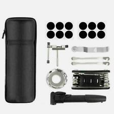 Bicycle MTB Repairs Tool Kits Mountain Bike Cycle Puncture Pump F6K0 Bag V5I4