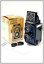 ++ ILFORD ILFOFLEX T.L.R. Twin Lens Reflex Camera with Box & Instructions  ++