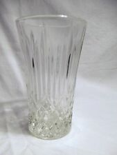 *NEW* Set of 8 vintage FOSTORIA clear CRYSTAL glass BENNINGTON hiball GLASSES