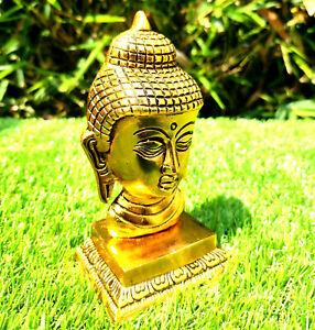 Meditative Buddha Statue Garden Home Décor Figurine Statues Ornament Gold