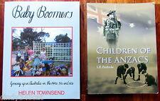 Baby Boomers + Children of the ANZACS Australians 1940s 1960s Childhood Memories
