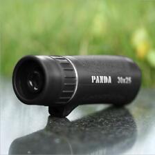 New 30x25 Optical Zoom Monocular Waterproof Night Vision Mini HD Telescope