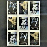 "St. Vincent and The Grenadines 1995 $1 Stamps Star Wars Framed 8.5"" x 10.5"""