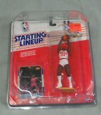 Michael Jordan, 1988 Starting Lineup - SLU, Chicago Bulls, w/Rookie Reprint