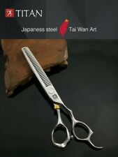 "TITAN 6"" Japan 440C  Professional Barbering/ Hairdressing Thinning  Scissors"
