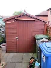 WOODEN GARDEN SHED 6