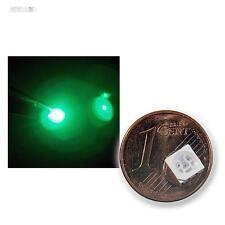 100 SMD LEDS 5050 Verde 3 chips / plcc6-power green vert GROENE LED smt smds