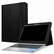 TUFF LUV Smart Faux Leather Case & Stand for Lenovo Miix 320 & Keyboard - Black