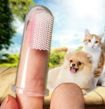 (FR) 1 X brosse à dents pour chien / chat - très simple d'utilisation