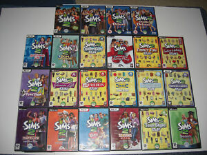 The Sims 2 / Expansion Pack Pc Sims2 Base game / Individual Add-On Simms Packs