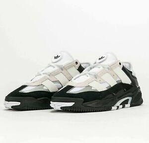 Adidas Originals Niteball White Black Silver H67366 Basketball Shoes Sneakers