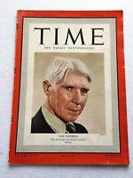Vintage Time Magazine December 4 1939 Back Issue Carl Sandburg WWII Weekly News