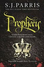 Prophecy by S. J. Parris, Historical Fiction (Giordano Bruno Series)