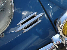 VW TYPE 1 BUG ACCESSORY 3 BAR HORN GRILLS OVAL ZWITTER