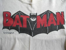 BATMAN 1966 T SHIRT ORIGINAL superhero SMALL kid TV COMIC BOOK PROMO ADAM WEST