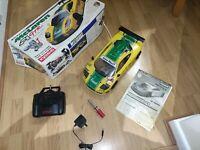 Vintage Nitro Kyosho PureTen GP Spider Mclaren F1 Mk1 4WD + Futaba Electrics