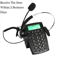 Call Center Dialpad Corded Headset Telephone work / Magic Jack Plus/VOIP adapter