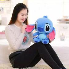Hot Disney Lilo&Stitch Plush Doll Blue Bear Kid Girl Soft Toy Birthday Gift 40cm